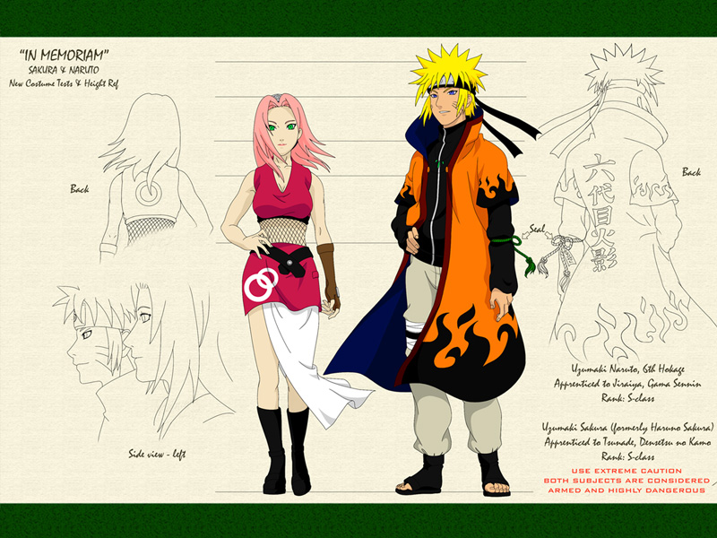 [b][color=orange]Adult: Sakura and Hokage Naruto